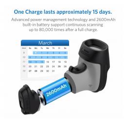 Un lecteur codes-barres sur batterie durant 15 jours