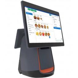 Caisse enregistreuse tactile TPV FP1500 avec imprimante intégrée + licence + tiroir