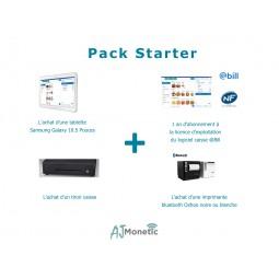 PACK STARTER avec caisse enregistreuse, @Bill, tiroir caisse et imprimante