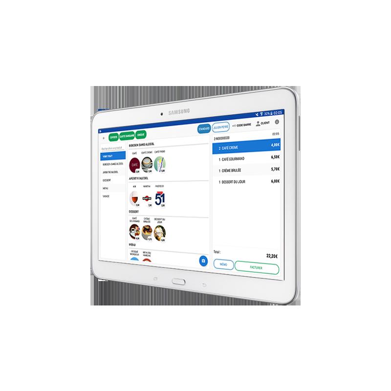 Tablette Samsung Galaxy 10.5 pouces incluse dans le Pack Starter